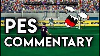17 HILARIOUS Things Only PES Commentators Say - Pro Evolution Soccer 2010 Throwback