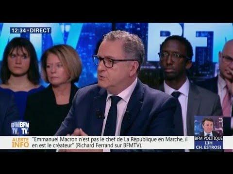 """""""On va ouvrir le chantier"""" de la réforme de l'Assemblée nationale, assure Richard Ferrand"""