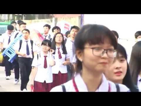 Lễ khai giàng năm học 2015-2016 Trường THPT An Dương Vương,