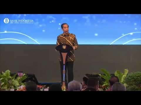 Presiden RI Berbicara Soal Bitcoin Dan Blockchains Di Acara Bank Indonesia