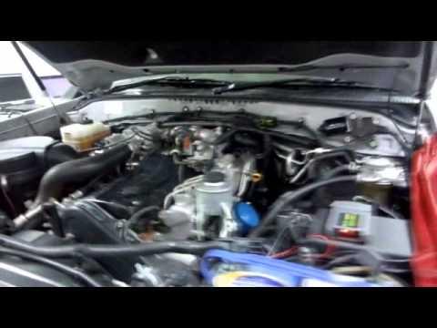 Toytoa LC 100 series 1HDFTE Diesel Module  YouTube