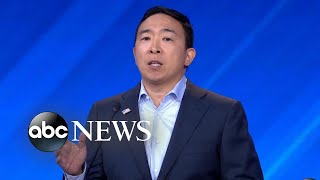 Andrew Yang says campaign will give 10 people $1,000 a month for a year