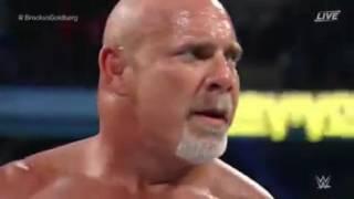 Goldberg beats Brock Lesnar in under 2 minutes    Best Match WWE