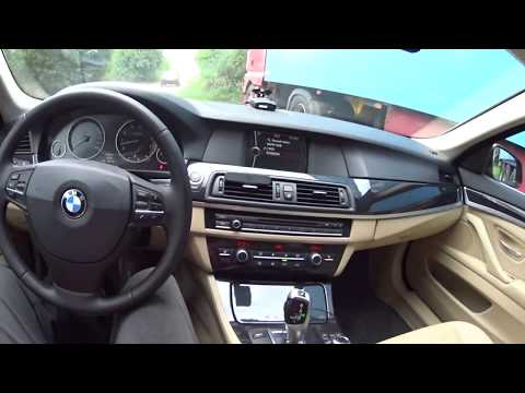 За рулём BMW 523i