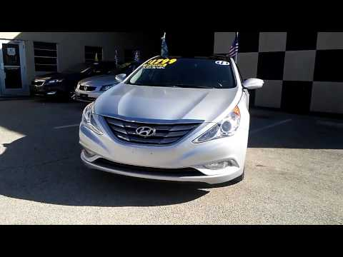 Hyundai SONATA 2012 LIMITED Silver 322557  For sale in Dallas Texas. buy here pay here