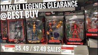 EP90- Marvel Legends Clearance at Best Buy/ Mezco MDX purple Catwoman/ Shazam/ Neca TMNT