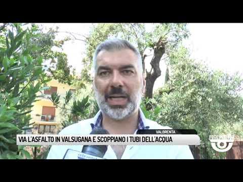 TG BASSANO (18/06/2019) - VIA L'ASFALTO IN VALSUGA...