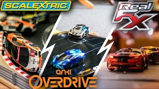 Anki Overdrive vs Real FX (Hotwheels AI) vs Scalectrix ARC ONE/AIR