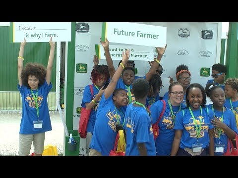 DPS at FPS - Over 700 Students and Volunteers Visit Farm Progress Show