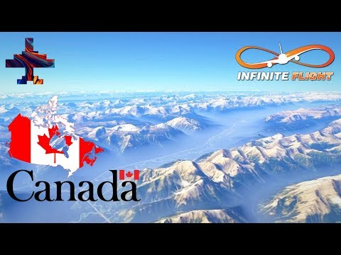 Infinite Flight GLOBAL: Canadian Airports Compilation