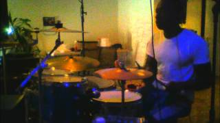 Aaliyah  One In A Million (Instrumental/ Drum Cover)- JC 2002