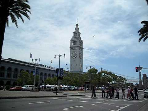 Ferry Building Clock Tower San Francisco California (Embarcadero)
