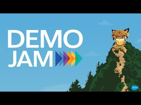 AppExchange Demo Jam for Sales and Service Apps - August 2017
