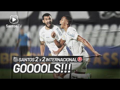 SANTOS 2 X 2 INTERNACIONAL | GOLS | BRASILEIRÃO (22/08/21)