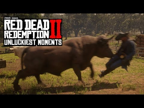 When Red Dead Redemption 2 Hates You #2 (RDR2 Unlucky Moments)
