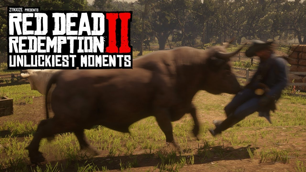 When Red Dead Redemption 2 Hates You #2 (RDR2 Unlucky Moments) thumbnail