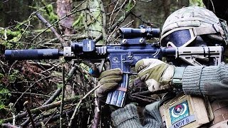 Airsoft War M60, VSR Sniper at Section8 Scotland