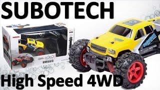Carros A Control Remoto 4x4 SUBOTECH 1/24 4WD Unboxing Banggood