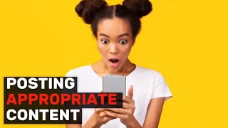 SEL Video Lesson of the Week (Week 34) - Posting Appropriate Content on Social Media