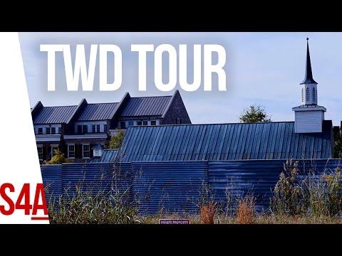 Walking Dead Tour (Alexandria & Woodbury in Senoia, GA)