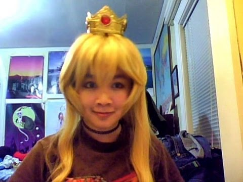 cosplay tutorials how to wear shortcolored wigs with longer hair youtube - Colored Wig