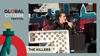 The Killers Perform 'All These Things That I've Done' | Global Citizen Festival NYC 2017