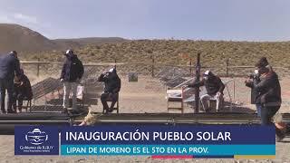 EN VIVO. Inauguración del Pueblo Solar Lipán de Moreno