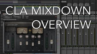 CLA MIXDOWN from WAVES | Plug-in Overview