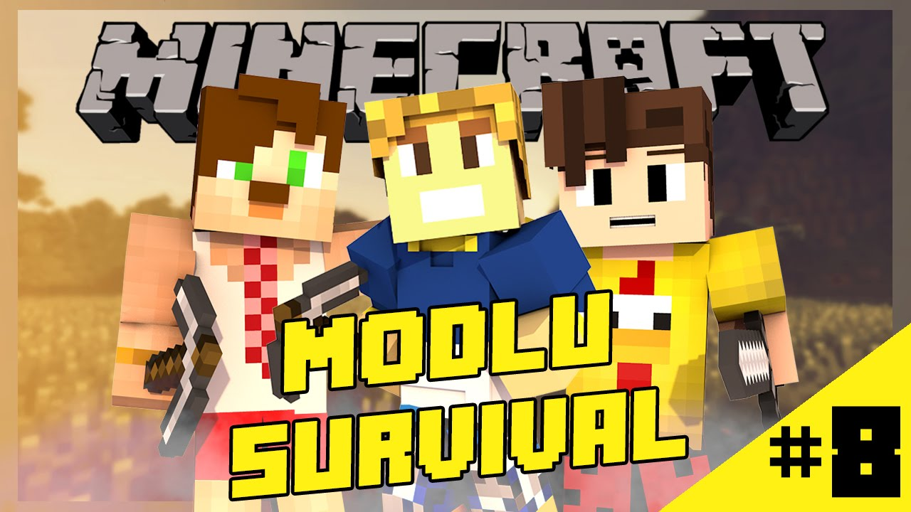 Game of Mods #8:Gol mü o ? w/Burak Oyunda [Modlu Survival]