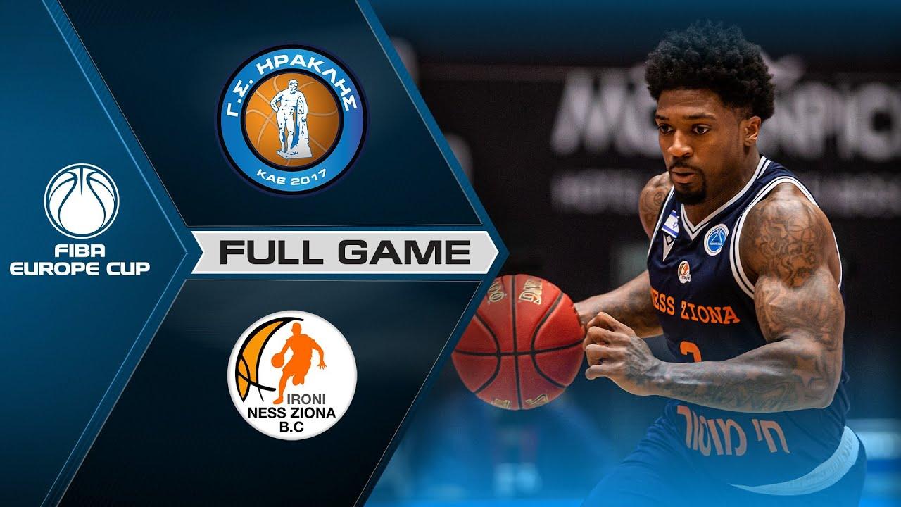 Quarter-Finals: Iraklis BC v Ironi Ness Ziona | Full Game - FIBA Europe Cup 2020