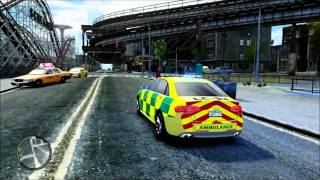GTAIV British Police Cars from Britishpolicemods