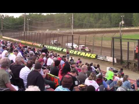 Eriez Speedway Econo Mod Heat Races 7-9-17