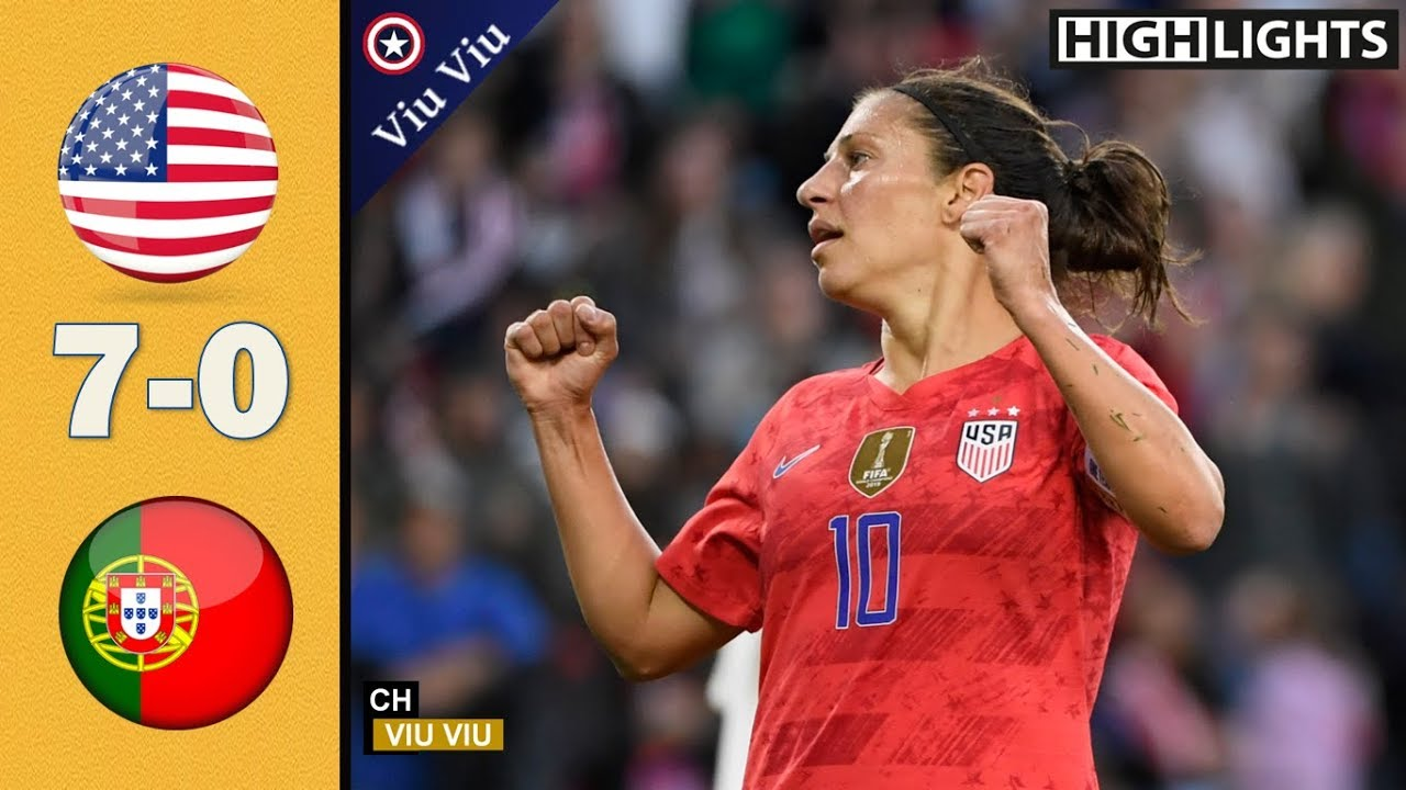 Download USA vs Portugal 7-0 Goals & Extended Highlights | 2 Games 2019