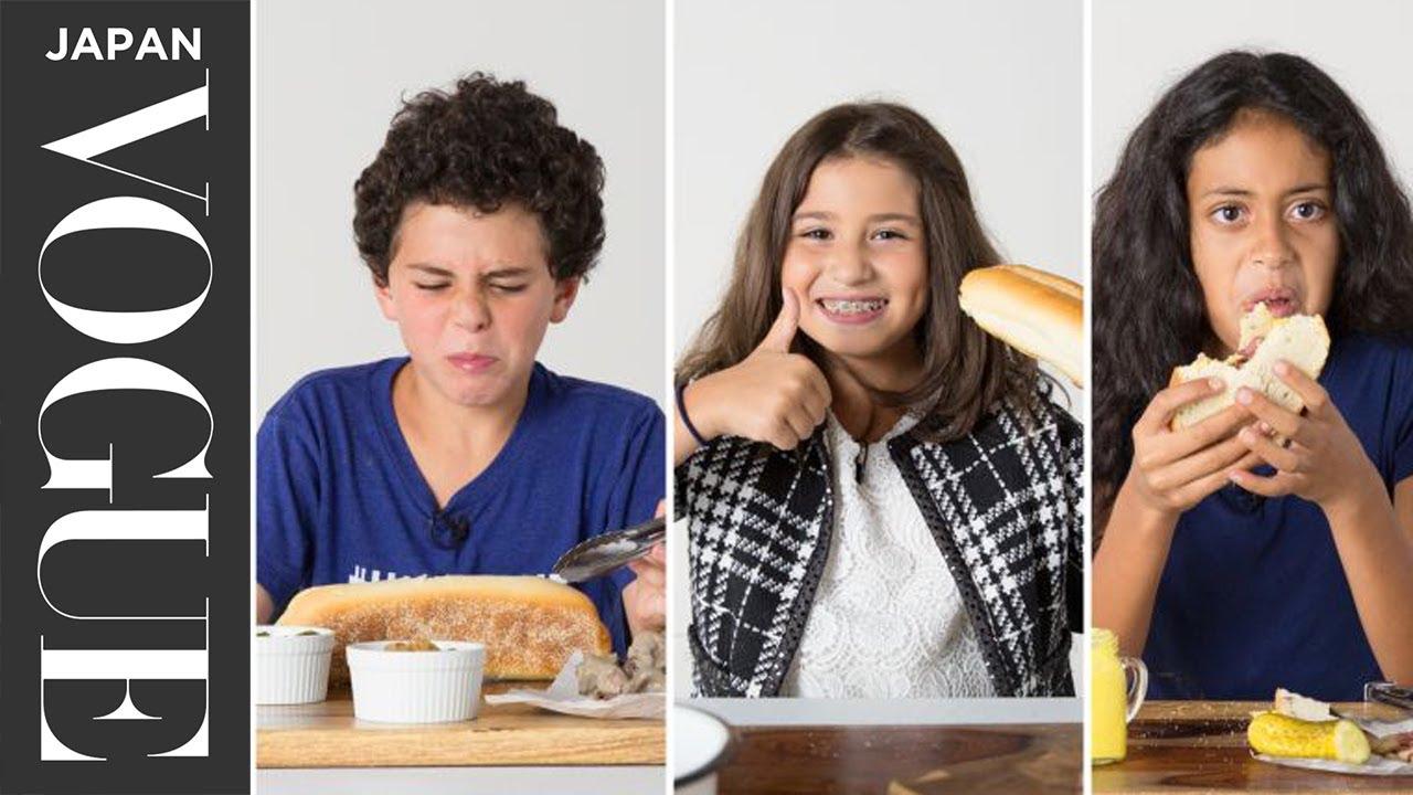 キッズが試食!世界のサンドイッチ。| 100 Years of... | VOGUE JAPAN