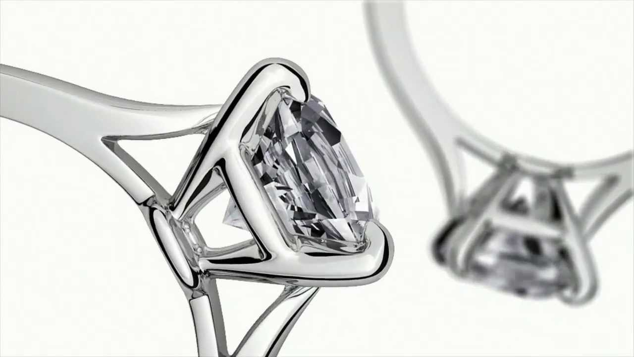 Cartier 1895 Solitaire Bridal Ring Official CM HD