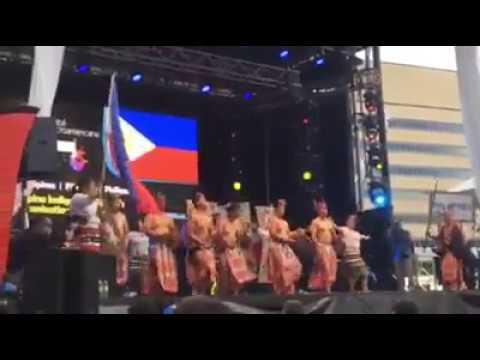 Nuestro Americana Philippines 2017 (Traditional Cordillera dance=Takik and Balangbang)