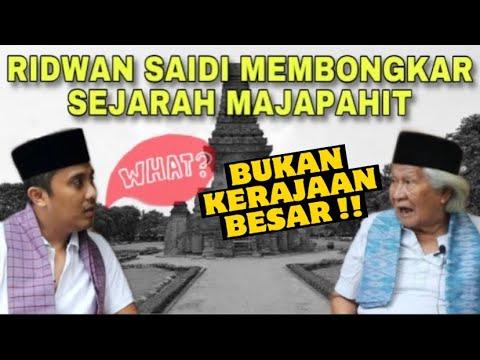 WHATTT !!! Babe Ridwan Saidi Blak-Blakan BONGKAR Sejarah Majapahit Yang Tak Terungkap