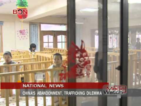 China's abandonment, trafficking dilemma- Mar.17th.,2014 - BONTV China