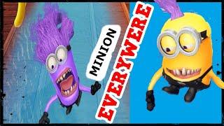 EVIL Minion In ALL Locations!!! *VERY BAD MINION Run Everywere* Trailer