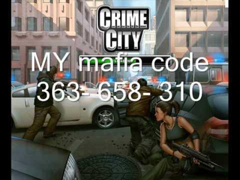 Add Your Crime City Mafia Codes Here!!
