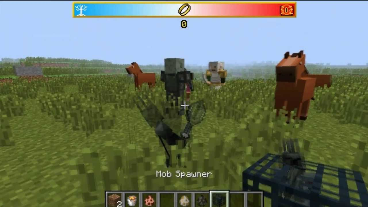 minecraft lord of the rings mod download