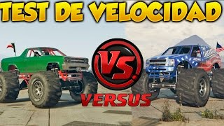 GTA 5 Online Test de Velocidad Marshall VS The Liberator Grand Theft Auto V Online