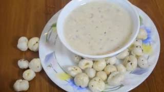Baby Food Recipe -शिशु के लिए मखाने की खीर   Makhana kheer for babies in Hindi (7 to 8 months+)