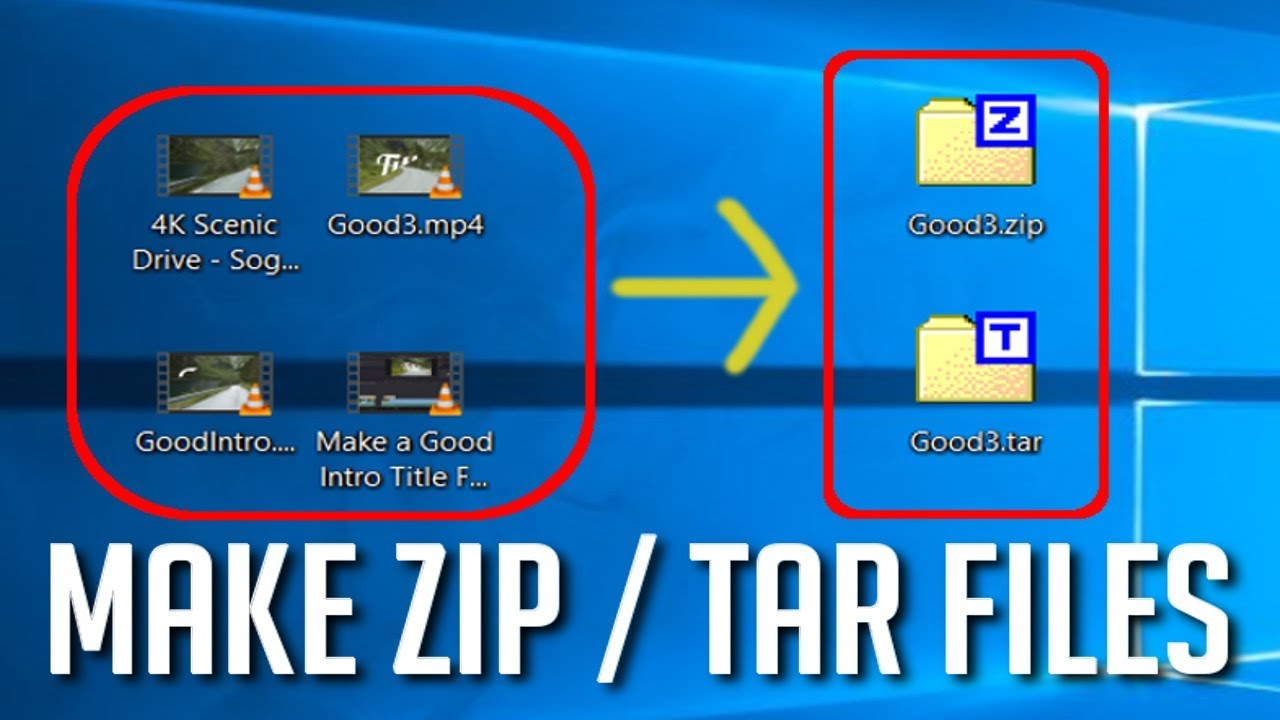 Create and Edit ZIP TAR File Archives || 7-ZIP [Free Tool] Tutorial for  Beginners