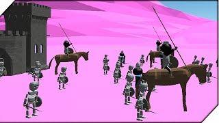СТИКМЕН ИНОПЛАНЕТЯНИН - Игра StickmanLegacy of War 3D Прохождение # 3 Стикмены атакуют
