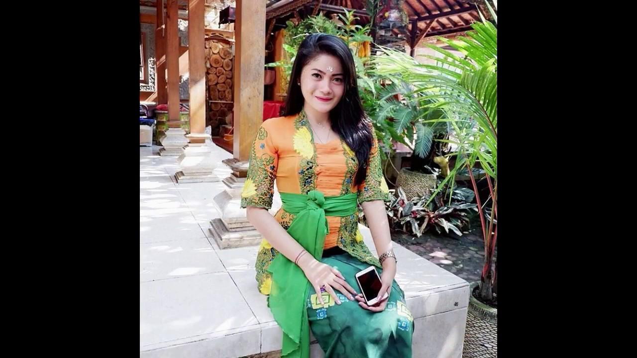 Model Kebaya Bali Modern Inspirasi Wanita Terbaru 2018 Youtube