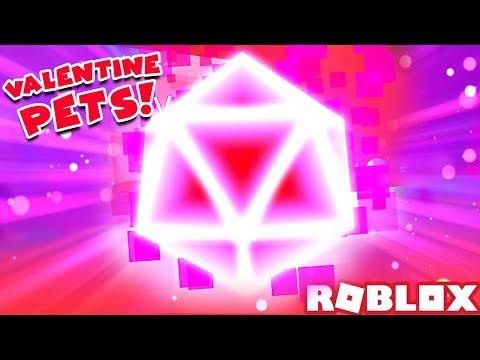 HE GOT THE VALENTIUM PET IN 5 MINUTES... 😱 (Every Valentine Egg Pet) | Roblox Bubble Gum Simulator
