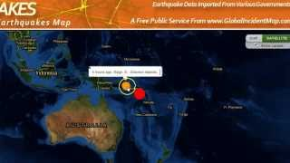 8.3 Earthquake Hits Solomon Islands