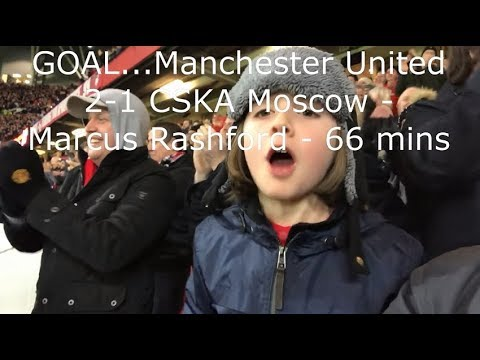 Manchester United v CSKA Moscow | Match Day Vlog | UEFA Champions League Group A | 05.12.2017