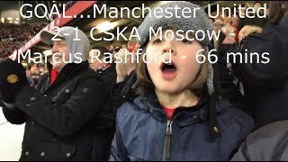 Manchester United v CSKA Moscow  Match Day Vlog  UEFA Champions League Group A  05122017